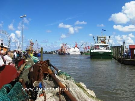 Angelurlaub in Ostfriesland auf Dorsche, Makrelen und Urlaub in einer preiswerten Ferienwohnung für die ganze Angelfamilie