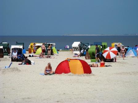 Ostfrieslandurlaub am Strand