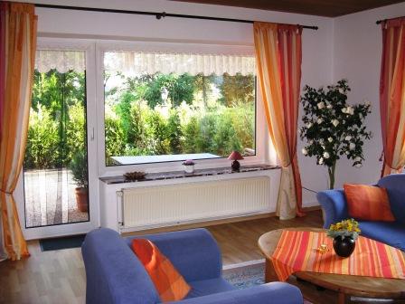 Frienwohnung Wohnzimmer